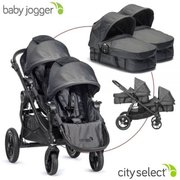 Baby Jogger City Select Second Seat and set with 2 sinks
